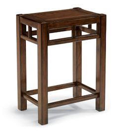 "Sonoma  End Table    Model 6625-011  24""H x 12""W x 18""D"