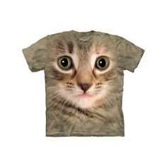 Kitten Face Tee Youth now featured on Fab.
