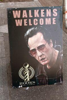 Walkens welcome... b