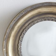 Wisteria - Mirrors & Wall Decor - Shop by Category - Mirrors - Aged Round Mirror - $99.00