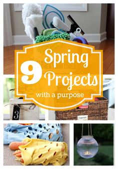 9 Great Spring Projects with a Purpose - Tipsaholic.com #projects #spring