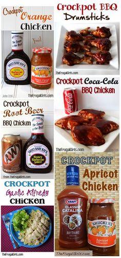 Diy Projects: BIG List of Easy Crockpot Recipes