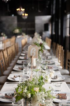 elegant reception, photo by Jarusha Brown http://ruffledblog.com/black-gold-calgary-wedding #wedding #reception #tablescapes