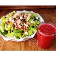 Raspberry Vinaigrette Salad