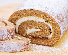 Diabetic-friendly pumpkin roll