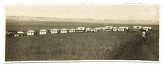 Panoramic view of the settlement. Balforia, Israel 1922.