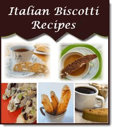 Italian Biscotti Recipes - A little collection to bake for holiday gifts, and holiday platters.  ~ Lisa