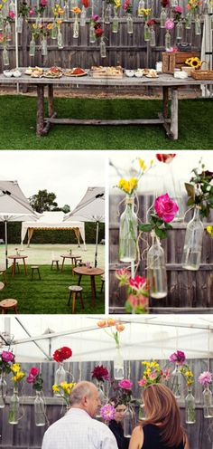 lovely outdoor party decor