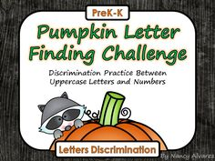 FREE Letter discrimination activity.  Do your students struggle differentiating between letters and numbers?    ABC center, letters, prekindergarten, kindergarten