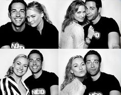 "I will always remember them as Chuck and Sarah from ""Chuck"". One of the best tv shows ever!"