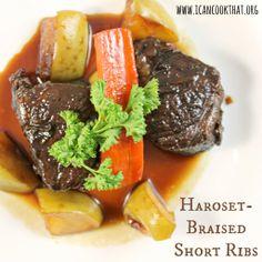 Haroset-Braised Short Ribs harosetbrais short, short ribs