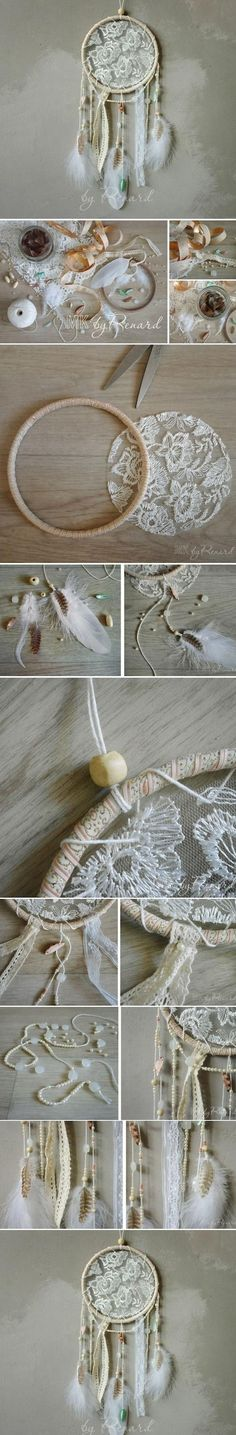 diy dream catcher #sorority #crafts #greek #gifts http://m.lovethispic.com/image/23095/diy-dream-catcher