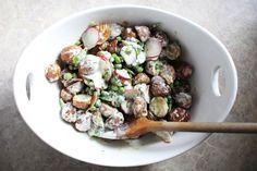summer roasted potato salad