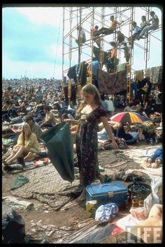 woodstock hippies