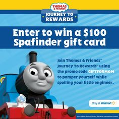 Check out Thomas and Friends Rewards Program & Join $100 SpaFinder GC Sweepstakes #sponsored #JourneyToRewards http://madamedeals.com/?p=494747