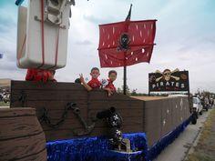 pirate float idea