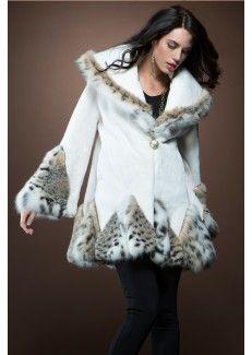 shear beaver, lynx fur, beavers, cat lynx, fur coat, beaver fur, white shear, fur fashion, coats