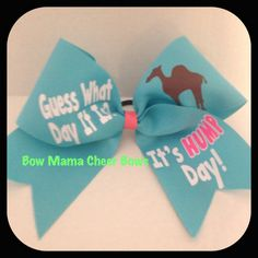 Cheer Bow on Etsy, $10.50-----my team talks about this every Wednesday!!!!
