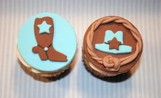 western cupcake toppers