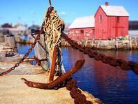 Rusty anchor.