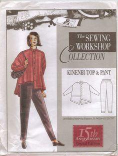 Kinenbi Top & Pants (Sewing Workshop)