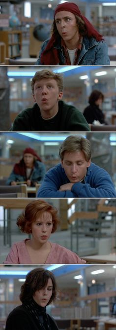 The Breakfast Club....love this movie!