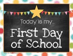 FREE 15,000 Follower Gift - First & Last Day of School Photo Signs --PreK through 6th