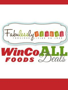 This site is amazing. They list all the best deals at WinCo each week and have a cool shopping list tool to make my grocery list. They even have links to coupons I can print from my computer.
