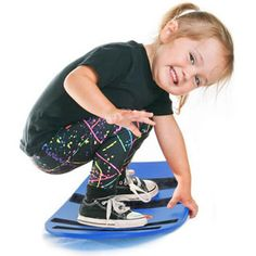 $47.99 - Replicate all your favorite board sports, in any location and on any surface— safely! The Spooner Board is a virtually indestructible balance board that spins, flips, wobbles and more. Younger ones will love simulating skateboard or surfing tricks and older kids will brush up on their snowboarding techniques in the off season. The Spooner board can even be used on the snow for sledding or boarding. Parents, you will breathe a sigh of relief to know that the Spooner board has been...