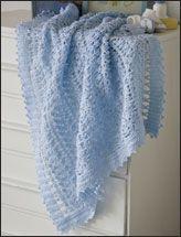 CROCHET BABY BLUE