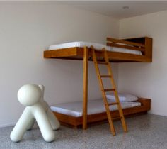Bunk beds designed by Richard Neutra