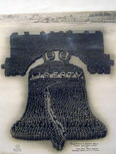Liberty Bell, Living Insignia, 1915-