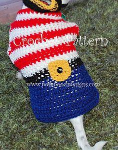 small dogs, pirat dog, dog sweaters, crochet pattern, sweater dsc09692small2