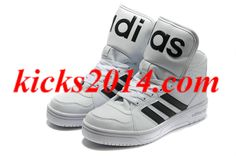 White Black Mens Jeremy Scott Adidas Instinct Hi