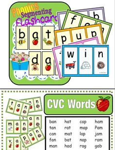 (136 Color / 136 B&W printables)  Learn sounds in context.  Learn 3 sounds and you know a word!