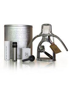 Look at this #zulilyfind! Manual Espresso Machine Set by ROK #zulilyfinds - I have to get one of these!!!