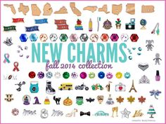 NEW charms!