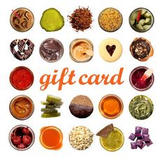 The gourmet gift cards from Mouth are perfect for last minute gifts
