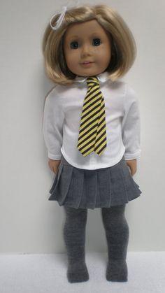 CUSTOM ORDER for JOAN Hogwarts Uniform for by dollupmydoll on Etsy, $40.00