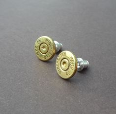 40 caliber smith and wesson bullet earrings