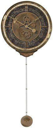 vintage clocks, antique clocks, chronograph clock, black walls, chronograph black