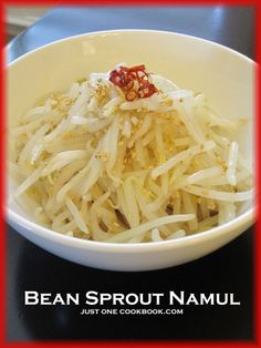 Bean Sprout Salad Recipe | Easy Japanese Recipes at Just One Cookbook