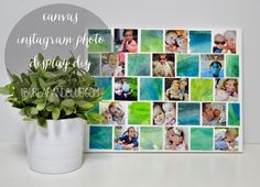 Canvas Instagram Photo Display Tutorial