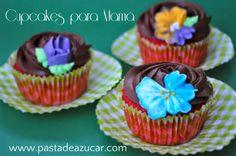 Pasta de Azucar: Cupcakes de Zuppa Inglesa especiales para el día de la madre...