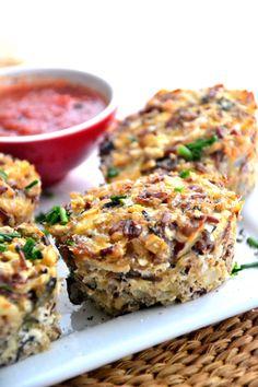 Quinoa bites - veganize!