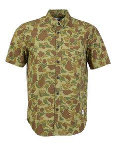 Samson Short sleeved Camo Shirt by Penfield   Hudson's Bay