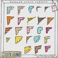 Doodle corners