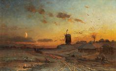 Julius Klever, Before sunrise