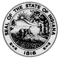 Indiana State Seal - Indiana Unit Study