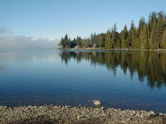 lake quinaultth, washington state, beauti place, washington favorit, magical places